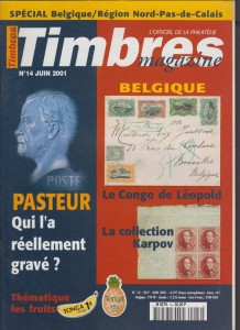 Couverture Timbres Magazine 14
