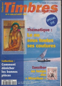Couverture Timbres Magazine 15