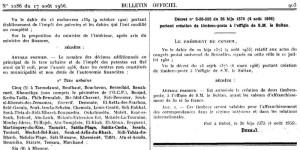 Bulletin Officiel 2286